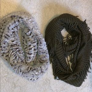 BUNDLE of infinity scarves from Nordstrom